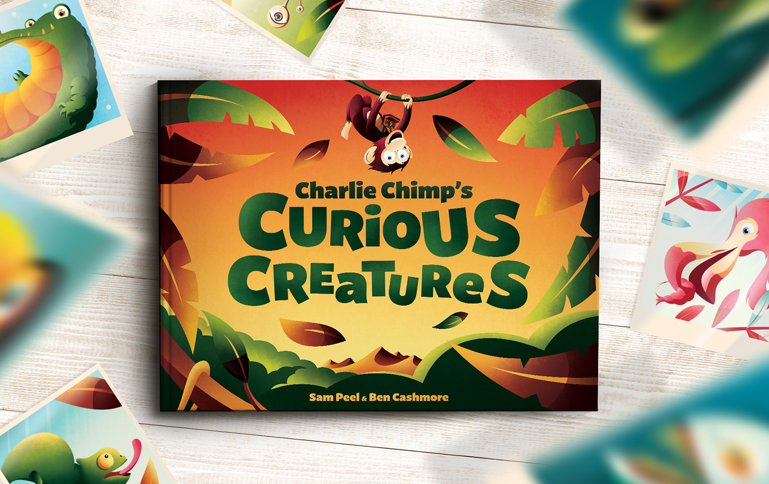 Charlie Chimps Curious Creatures